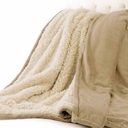 Kanata Extra Large Alpaca Home Throw Blanket 60x70