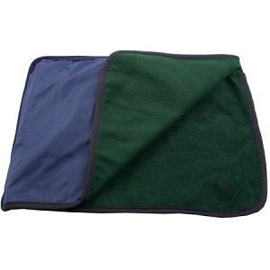 4-in-1 Blanket (2-Tone) - Multipurpose Zippered 50x60 Fleece Blanket