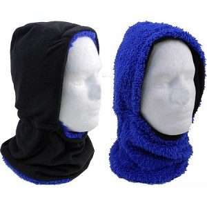 Reversible Neck Warmer with Hat