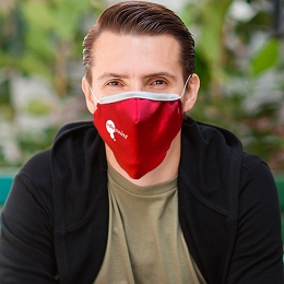 Three Layer Antimicrobial Cloth Face Mask (Printed)