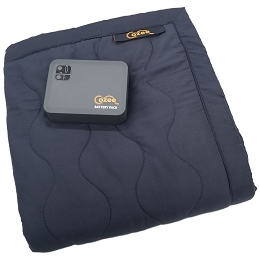 The Cozee Battery Powered Heating Blanket