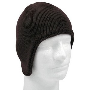 Knit Beanie with Flap