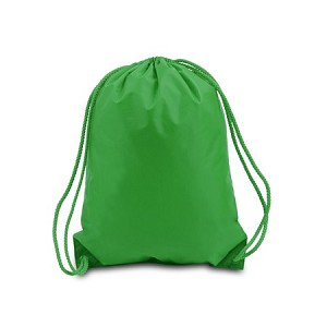 Drawstring Bag with Matching Cord 14x18